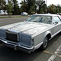Lincoln continental mark v hardtop coupe 1977-1979