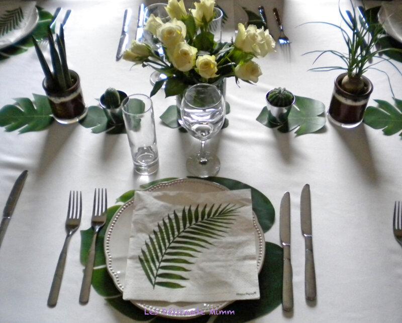 Ma table Urban Jungle 7