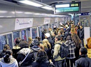 metro bondé gag