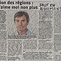 La réforme régionale frivole de 2015 est une catastrophe... sauf en normandie!