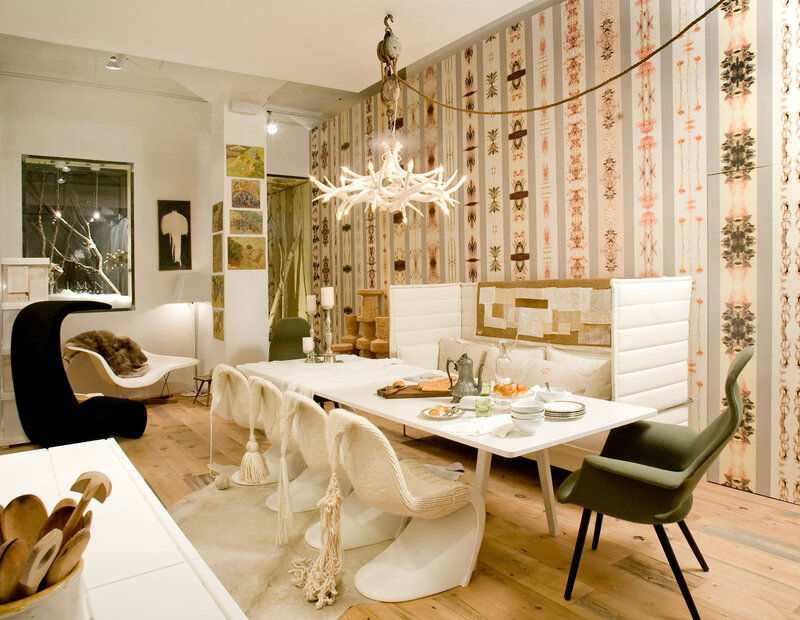 dining room Nicole Hollis for Vitra at Limn