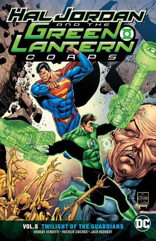 rebirth hal jordan & the green lantern corps vol 05 twilight of the guardians