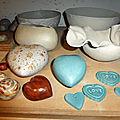 Decoration de poteries