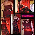 robe bordeaux tribal noir4