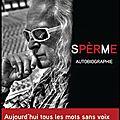 Sperme - michel polnareff - editions plon
