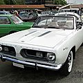 Plymouth barracuda convertible-1967