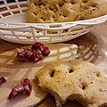 Focaccia au romarin et huile d'olives