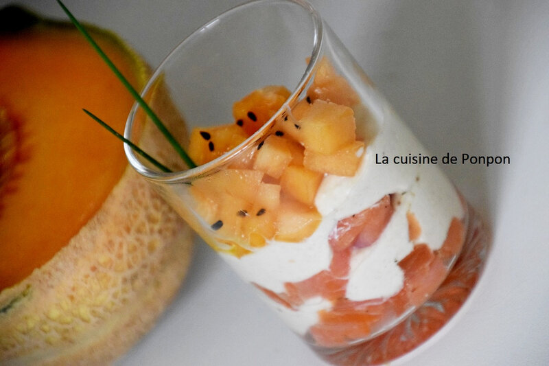 verrine saumon et melon (9)