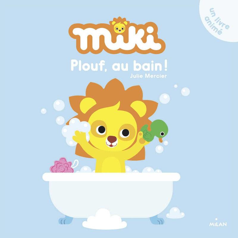 Miki plouf au bain
