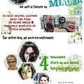 Le mois du mixed media sur variations créatives !!