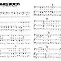Hi-heel sneakers - johnny hallyday (partition - sheet-music)
