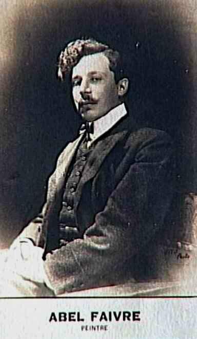 Abel Faivre peintre