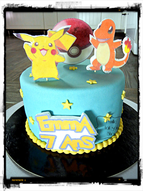Gateau Pokémon