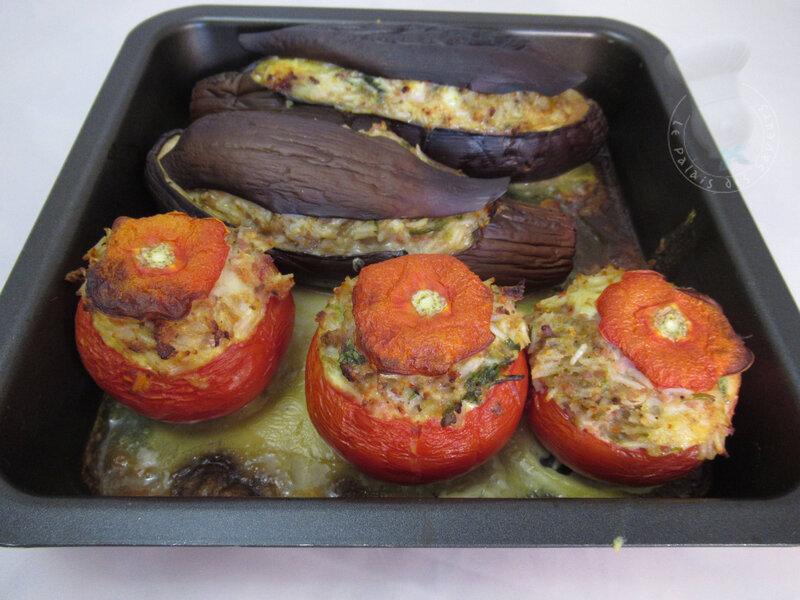 Légumes farcis au Banon