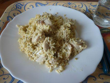 quinoa boudin moutarde