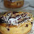 Tartelettes sans pâte aux cerises