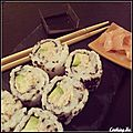 California makis au thon-mayonnaise