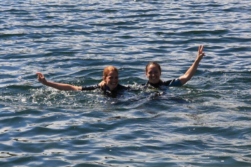 Marine et Céline