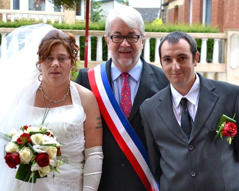MARIAGE 2015 FRÉDÉRIC TOPIN ET NADÈGE MOTTE