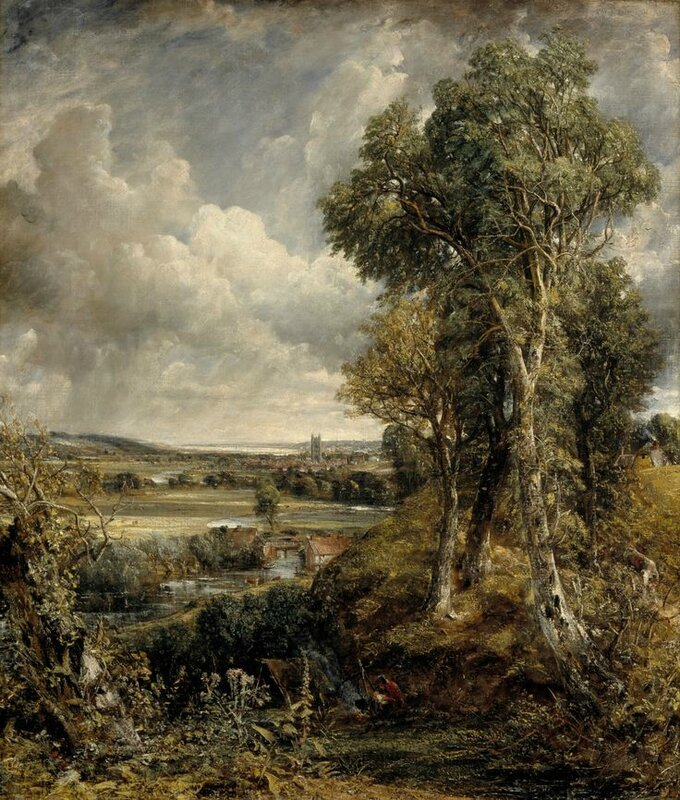 John Constable, The Vale of Dedham, 1828