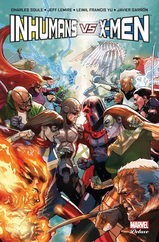 marvel deluxe inhumans vs x-men