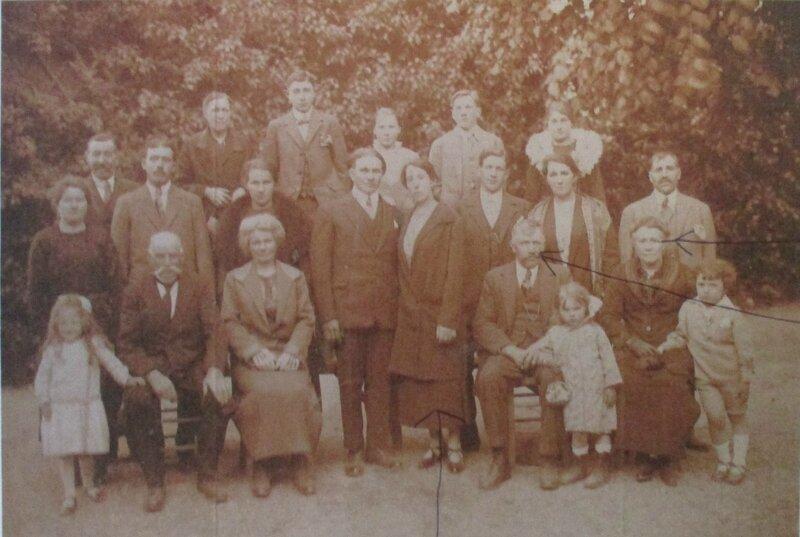 1925 le 9 juin à Touquettes_Mariage Germaine Quefelec et Emile Desfavries