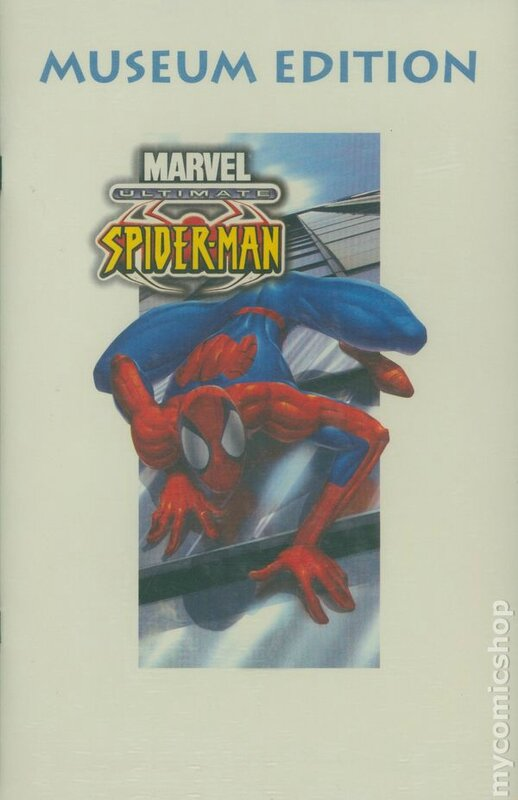ultimate spiderman 1 museum edition