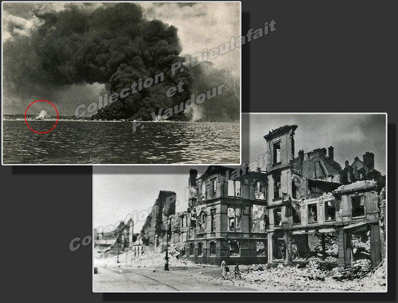 9 juin 1940 Deux incendies