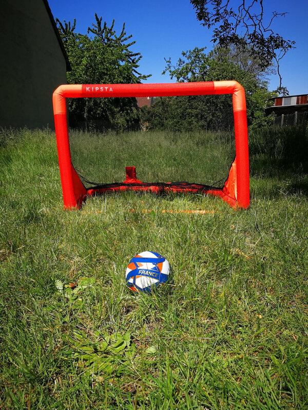 Cage de foot gonflable Kipsta Decathlon - Ludi et Compagnie