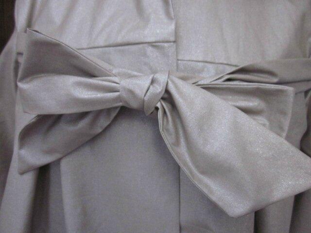 Ciré AGLAE en coton enduit beige pailleté (4)