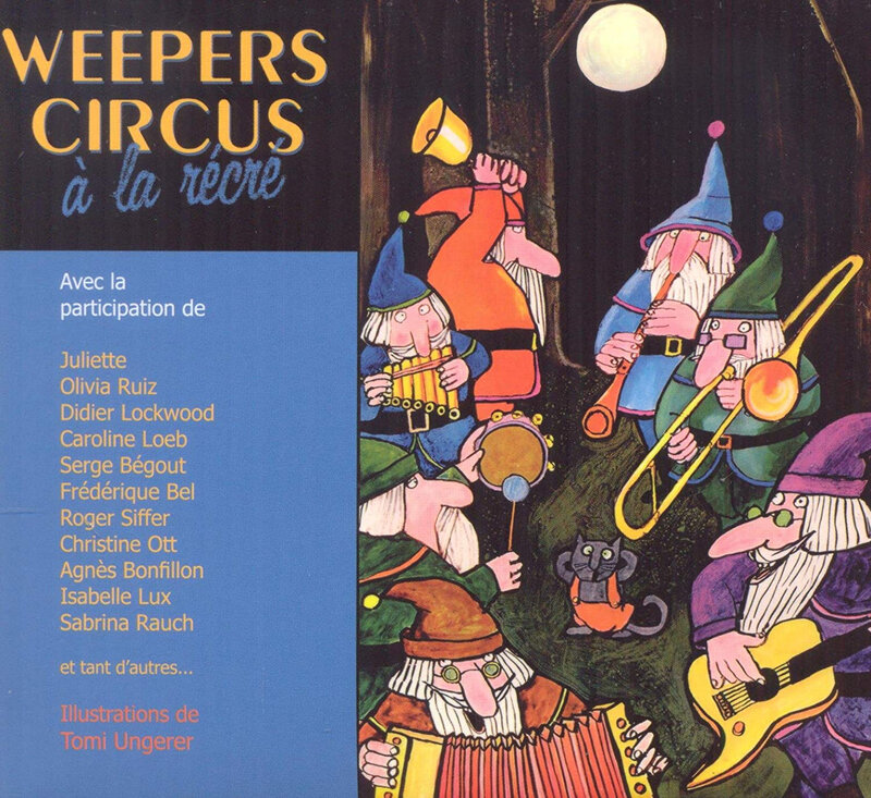 Pochette Weepers Circus