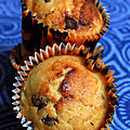 Muffins banane et chocolat, une gourmandise irrésistible !