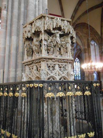 Chaire gothique