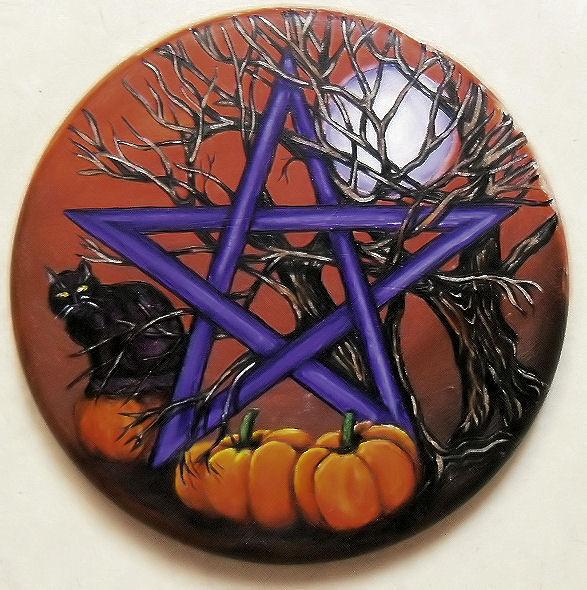 Pentacle d'Halloween VENDU