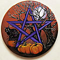Pentacle d'Halloween VENDU