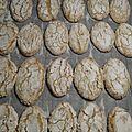 RICCIARELLI , Biscuits Italiens ( aux amandes ) 163