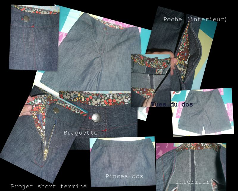 Short jean taille 40