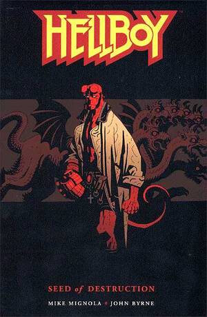 dark horse hellboy seed of destruction TPB