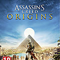 Test de assassin's creed : origins - jeu video giga france