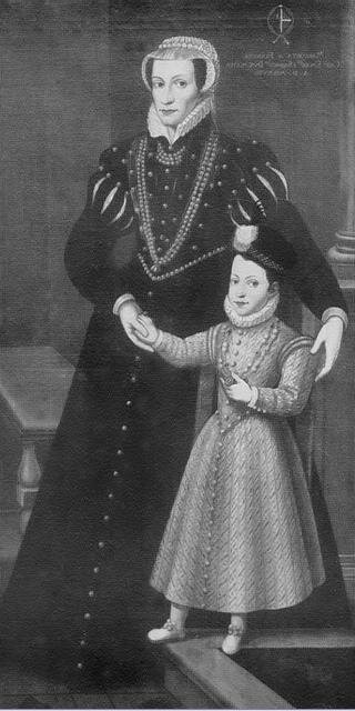 Marguerite de France et son fils