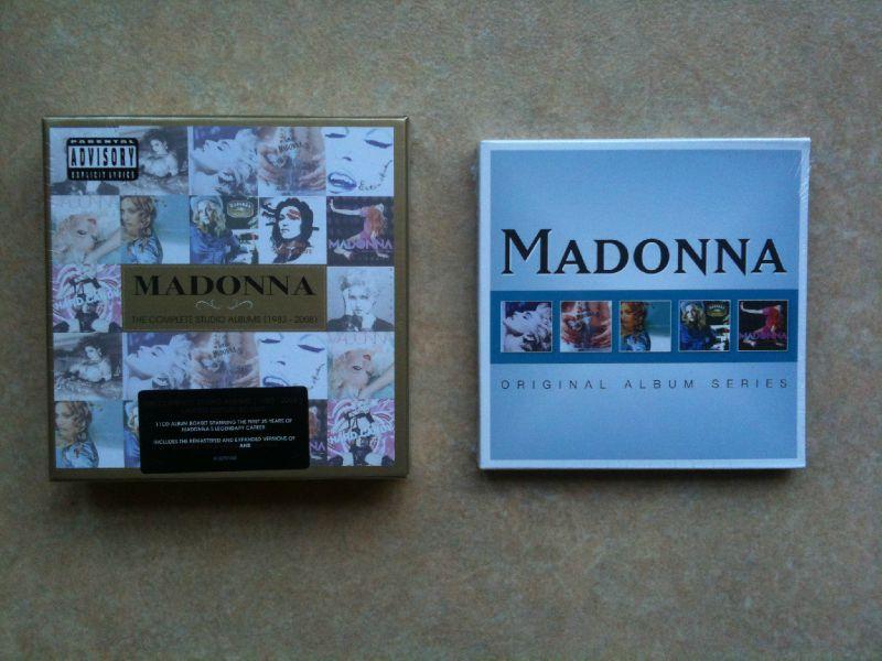 The Complete Studio Albums 1983-2008 / Original album Series