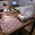 Café couture à la petite fabrique : le sac réversible