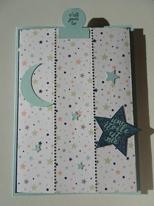 9a Carte Message caché Lot Petite étoile