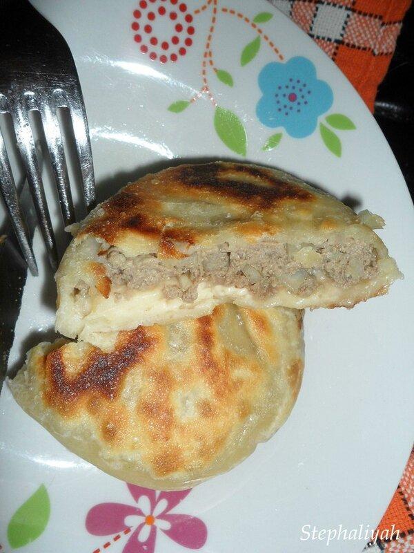 Pancakes salés farcis boeuf - 4