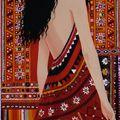Dos à la robe indienne, 2009, disponible