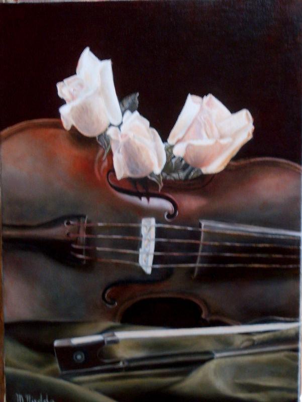 roses et romantique