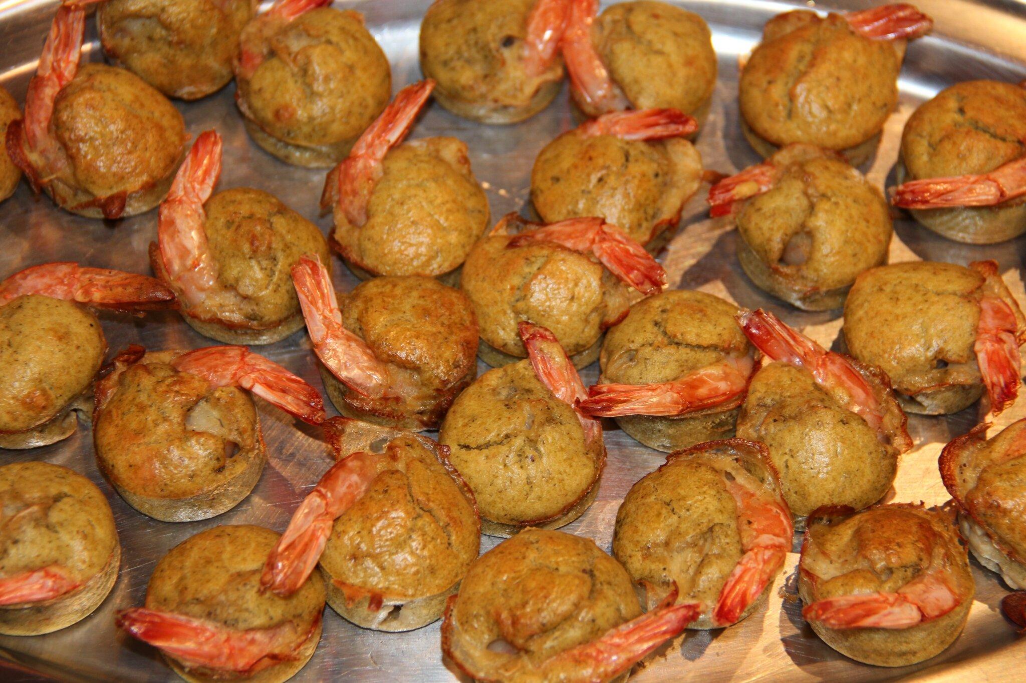 idée repas jour de l an Bouchons de crevettes au pesto   Le p'tit monde de Céline idée repas jour de l an
