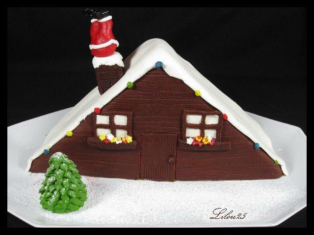 gateau de fete de noel Père Noël dans la cheminée   Gâteaux en fête de lilou 25 gateau de fete de noel