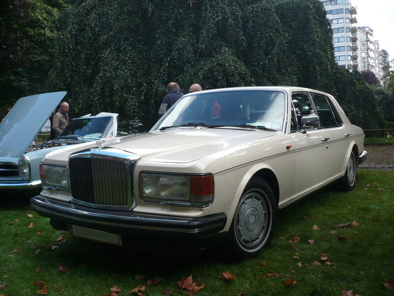 BENTLEY Mulsanne 1982 Liège (1)