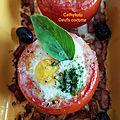 ...tomates cocotte...